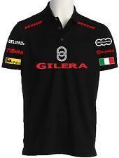 POLO GILERA maglietta FELPA t-shirt maglia HONDA DUCATI APRILIA KAWASAKI BMW NE