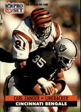 1991 Pro Set Football (501-750) Pick From List