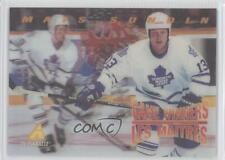 1995-96 Pinnacle McDonald's #McD-18 Mats Sundin Toronto Maple Leafs Hockey Card
