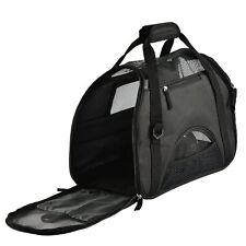 Pet Dog Cat Carrier Soft Travel Shoulder Hand Bag Cage Zipper Door Mesh Skylight