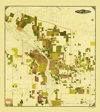 Old City Map - Portland Oregon - Crocker 1901 - 23 x 25.80