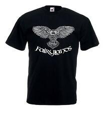T-shirt Maglietta J1149 Gufo Fairylands Owl Irish Fantasy