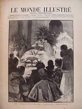 LE MONDE ILL 1894 N 1919 LA REINE BOIT Dessin de MAROLD