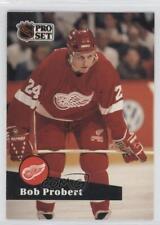 1991-92 Pro Set French #61 Bob Probert Detroit Red Wings Hockey Card