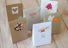 Rastremazione TOP BOX 5pc Eco Friendly FAI DA TE MATRIMONIO FAVORE Stile Rustico Vintage confezione regalo