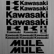 Kawasaki MULE sticker decal quad ATV 16 Pieces