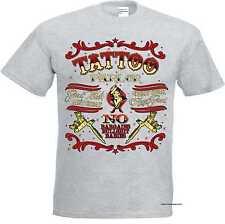 T Shirt ash Greaser Rockebilly Tattoo&Gothikmotiv Modell Tattoo
