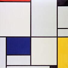 Tableau I by Dutch Piet Mondrian. Fine Art Reproduction Prints Canvas or Paper