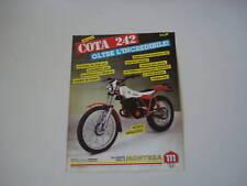 advertising Pubblicità 1984 MOTO MONTESA COTA 242 TRIAL