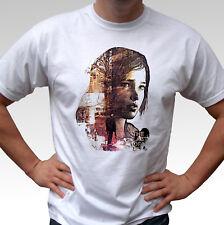 El último de nosotros Ellie Camiseta Blanca Diseño Superior De Juego-Para Hombre Y Niños Tallas