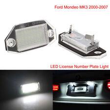 24 LED 12V White Number License Plate Lights Lamp For Ford Mondeo MK3 2000-2007
