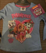 Ex-Mothercare Girls Paw Patrol T-Shirt - 18-24 Months
