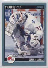 1992-93 Score Canadian #354 Stephane Fiset Quebec Nordiques Hockey Card