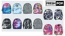 Just Hype Backpack Unisex Rucksack Bag Various Plain/Print New Speckle Colours!