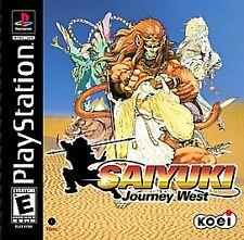 Saiyuki: Journey West (Sony PlayStation 1, 2001) GOOD