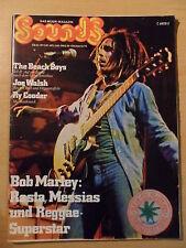 SOUNDS 10/1975 * Bob Marley The Beach Boys Joe Walsh Ry Cooder Lazy Farmer