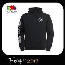 BMW FELPA BMW MOTORRAD CON CAPPUCCIO RICAMO E STAMPA