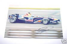 David Coulthard Hand Signed Photo 12x8.