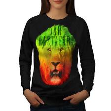 Rastafari Weed Pot Rasta Women Sweatshirt NEW | Wellcoda
