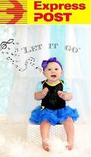 Frozen Anna Costume Onesie Baby Girls Birthday Tulle Dress Romper EXPRESS POST