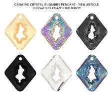 Genuine SWAROVSKI 6926 Growing Crystal Rhombus Pendants * Designer Edition
