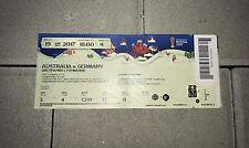Sammler Used Ticket #4 Australia Germany Australien Deutschland Confed Cup 2017