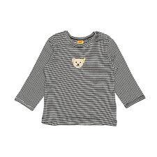 STEIFF® Baby Langarmshirt Shirt Marine Bär Gr.62 68 74 80 86 0006603-3032 NEU!