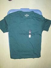Lot of 2 Mens shirt tshirt 3X Green 100% Cotton Faded Glory NEW