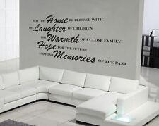 POSSA QUESTO CASA decalcomania in vinile adesivi ARTISTICI parete citazioni