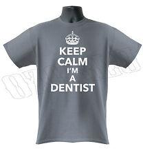 Keep Calm soy un dentista Funny clínica dental para hombre de Superdry S-XXL
