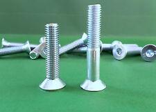 Senkschrauben Innensechskant ISO 10642 DIN 7991 Senkkopf 10.9 galv. verzinkt M12