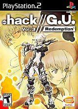 .hack Dot Hack // G.U. Vol 3 Redemption PS2 Complete CIB Sony PS2 Excellent GU