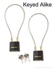 Gun Cable Lock to Secure Firearms - Master Lock #99 - 2 Keyed Alike