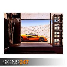 McLaren 570S 2015 (0040) cartel de auto-foto arte cartel impresión A0 A1 A2 A3 A4