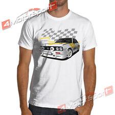Opel Ascona B 400 Rally White or Gray T Shirt wrc Vauxhall Cavalier