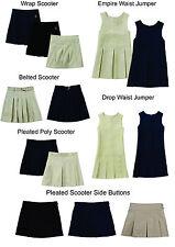 Girls skorts George Uniform Khaki Navy Blue black 6 7 8 10 12 14 16 18 1/2 NEW