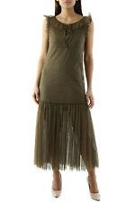 Olivia Hops VI-CGR2527C Abito donna - colore Verde IT