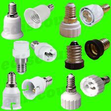 Ses E14 B22 E27 E12 Gu10 G9 Mr16 Led Adaptador Convertidor sostenedor de la lámpara del Reino Unido Vendedor