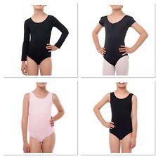 Danskin Now Girls Cotton Spandex Tank Leotard Gymnastics options available