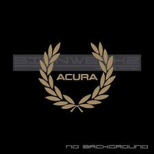 Acura Racing Wreath Decal Sticker Type S vtec tlx rl rdx mdx rsx ilx aspec Pair