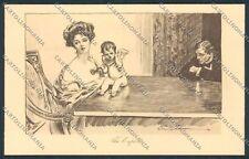 Gibson lady postcard B5242 SZG