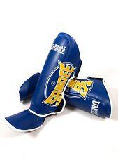 Sandee Shin Guards Muay Thai Boxing Shin Pads Cool-Tec Kickboxing MMA Sparring