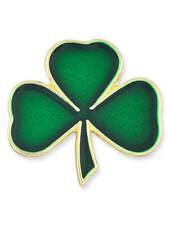 PinMart's Green Shamrock 3 Leaf Clover St. Patrick's Day Enamel Lapel Pin