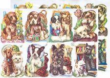 Cromo EF Recortes Perro 7121 En relieve Ilustraciones perro