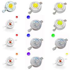 High Power LED 1W 350mA Emitter weiss warmweiss kaltweiss rot gelb grün blau UV