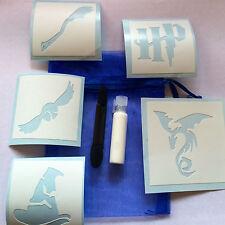 Glitter Tattoo Party Bag Kit Harry Potter Glitter Glue Spell Wizard Witch Spells