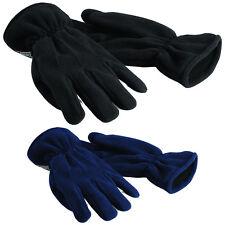 BEECHFIELD Suprafleece Thinsulate Guantes Negro Azul Invierno Cálido BB295