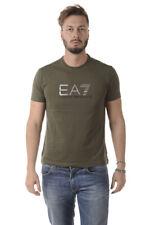 T-shirt Maglietta Emporio Armani EA7 Sweatshirt % Uomo Verde 6YPT56PJ30Z-1852