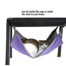 Cat Hanging Bed Pets Hammock Oxford Waterproof Dog Bed Small Animal Mat Blanket