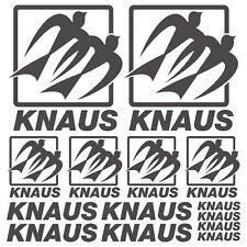 Knaus XL aufkleber sticker wohnmobil camper wohnwagen caravan 14 Stücke Pieces